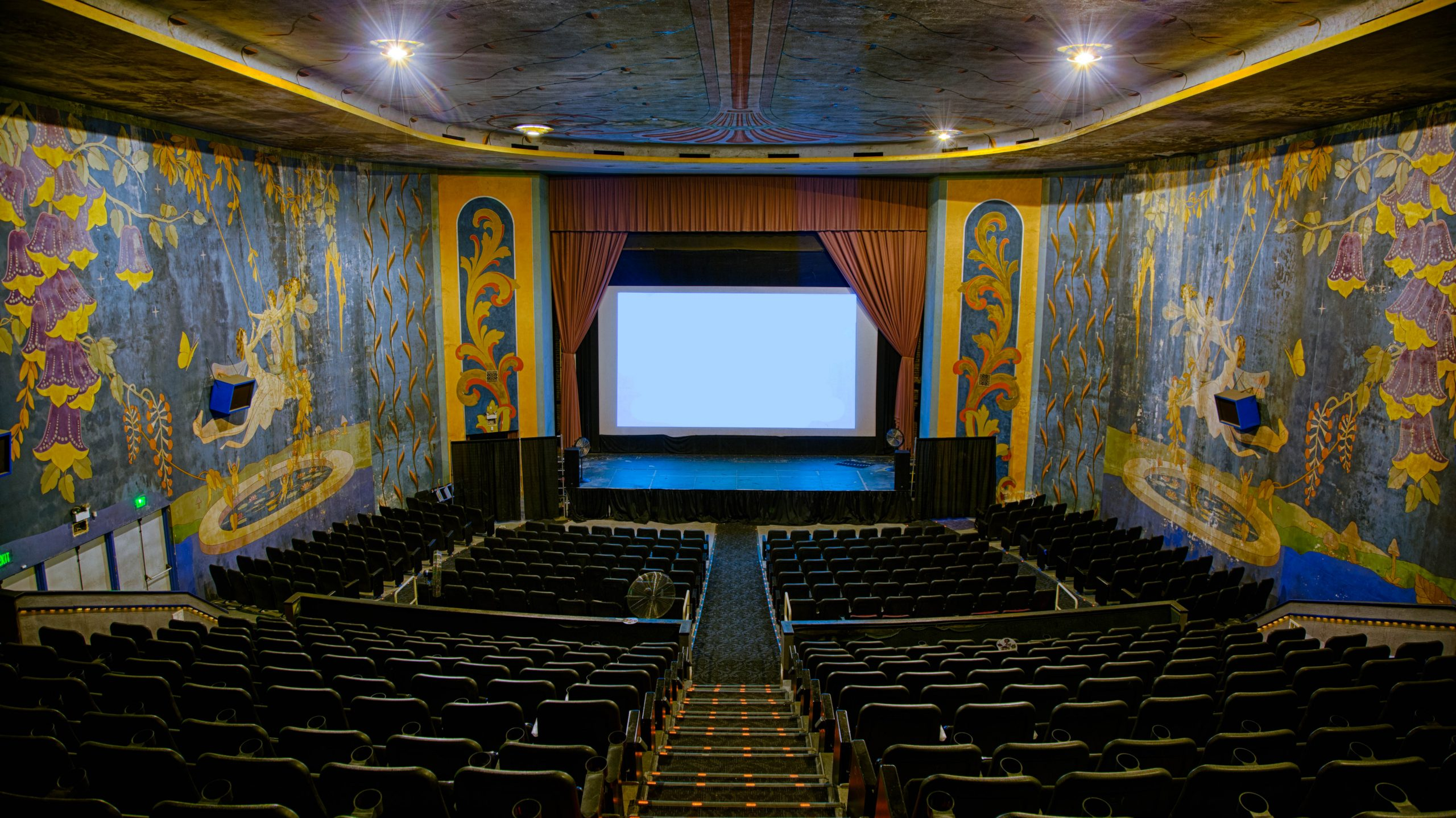 Header Image - Working to keep California's oldest movie theater alive