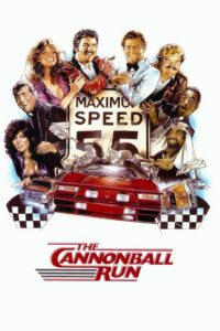 "Poster for the movie ""The Cannonball Run"""