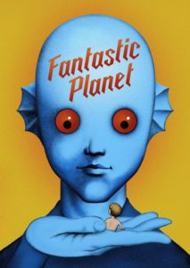 "Poster for the movie ""Fantastic Planet"""