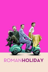 "Poster for the movie ""Roman Holiday"""