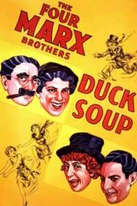 "Poster for the movie ""Duck Soup"""