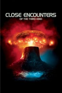 "Poster for the movie ""Close Encounters of the Third Kind"""
