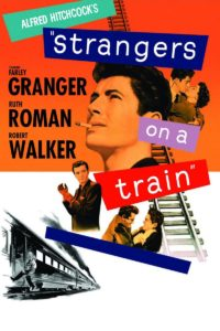 "Poster for the movie ""Strangers on a Train"""