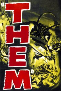 "Poster for the movie ""Them!"""