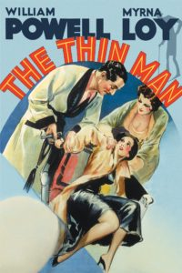 "Poster for the movie ""The Thin Man"""