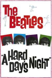 "Poster for the movie ""A Hard Day's Night"""