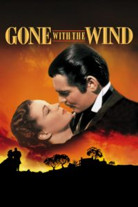 "Poster for the movie ""Gone with the Wind"""