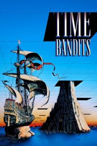 "Poster for the movie ""Time Bandits"""